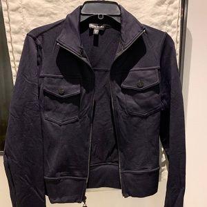 Bebe Sport Stretchy Zip-up Jacket Black